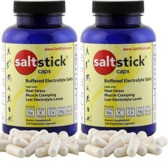 SaltStick Caps Electrolyte Replacement 100 count (200 Capsules) by SaltStick