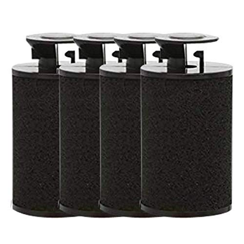 Perco Ink Roll for 1 Line & 2 Line Perco Labelers Pack of 4 Inkers by Perco