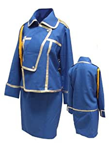 CTMWEB Fullmetal Alchemist Cosplay Costume Riza Hawkeye Uniform Kids Small