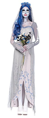 9 Costume Tim Burton (Adult Tim Burton's Corpse Bride Costume - Medium/Large 8-12)