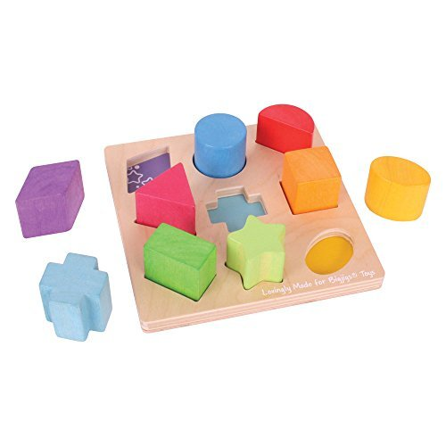 Bigjigs Baby First Shapes Sorter by Bigjigs