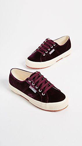 Superga Womens Womens Bordeaux Velvetw 2750 Superga nawxP7S