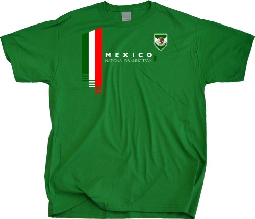 Ann Arbor T-Shirt Co. Men's Mexico National Drinking Team T-Shirt