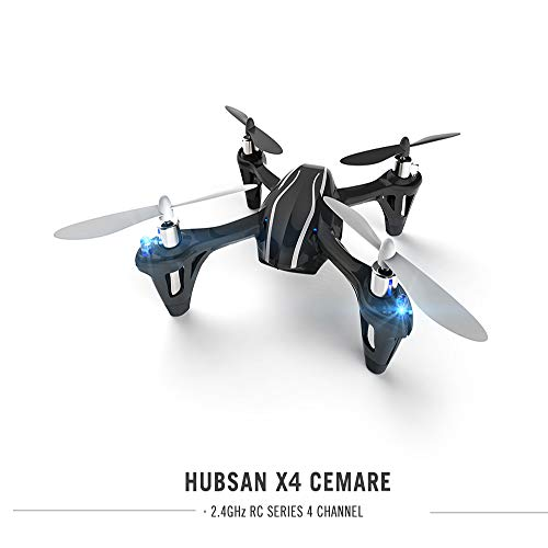 HUBSAN X4 H107L 2.4G 4CH Mini RC Quadcopter with LED Lights and LED Lights Propeller Rotor Protection Guard Toys Drone Gift