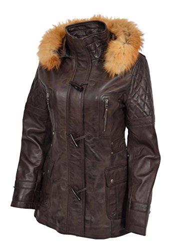 Cappotto Cappotto A1 Fashion Duffle Marrone Donna Goods HxHAaFq