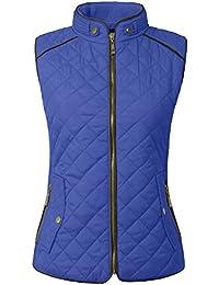 b8aa8a27c62969 Womens Lightweight Quilted Zip Jacket Vest