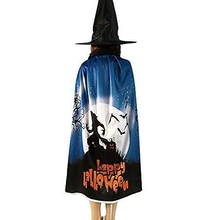 QZXCD Capa de Halloween Creativo 2019 Capa de Halloween Túnicas + ...