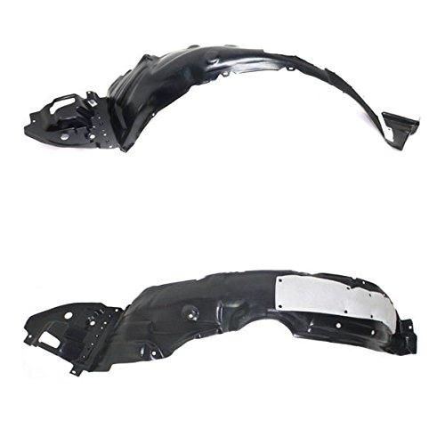 (Koolzap For 14 15 16 Corolla Front Splash Shield Inner Fender Liner Left Right SET PAIR)