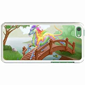Lmf DIY phone caseCustom Fashion Design Apple iphone 5/5s Back Cover Case Personalized Customized Diy Gifts In Dragon horse WhiteLmf DIY phone case