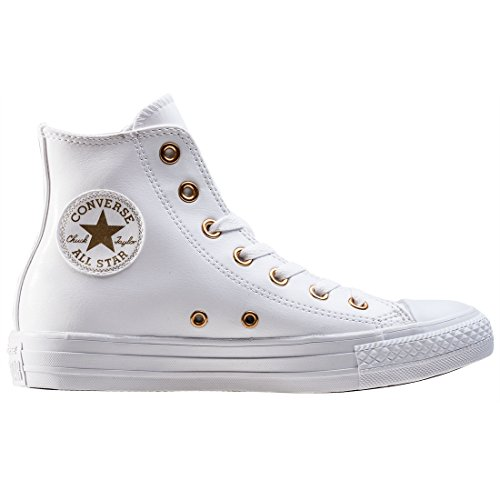 Star Femme White All Baskets Mode Converse Hi Blanc qT0t7P5x