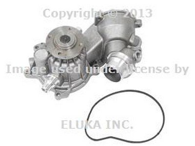 With Auxiliary A//C BMW Engine Water Pump Electric Genuine Original 11517546996