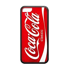 DiyCaseStore Red Soda Style Coca Cola iPhone 5C Hard Case Cover Protector Christmas Gift Idea