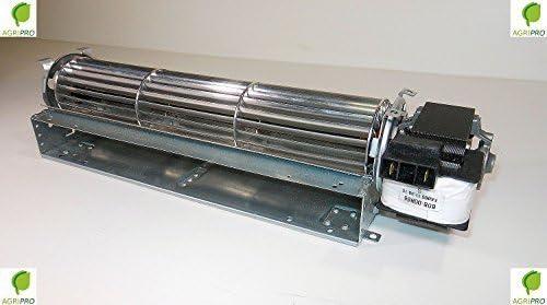Agripro - Ventilador tangencial (36 cm, motor derecho universal ...
