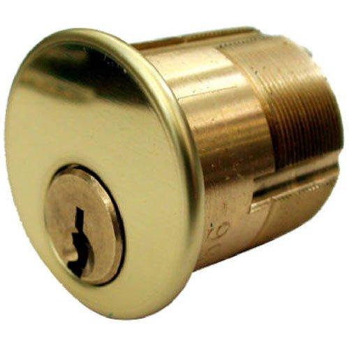 Standard Mortise Cylinder - KABA ILCO 7205UA1-03 BRS Mortise Cylinder