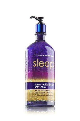 "Bath & Body Works ""Sleep"" Honey Vanilla Dream Body Lotion 6."