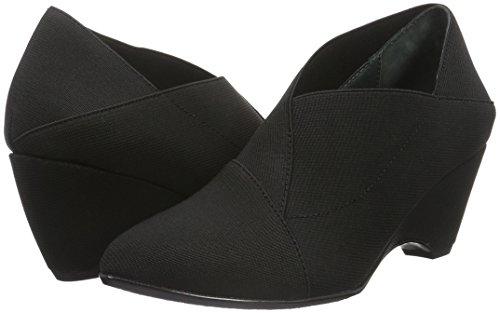 6323c2d77484 Mujer black Para Zapatos Tacón United Nude Mid Cerrada De Origami Punta Con  Negro vwvSOq7z