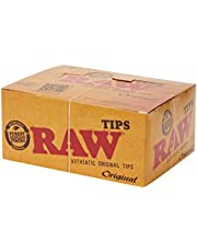 Raw Filtertips ongebleekt (50 x 50)