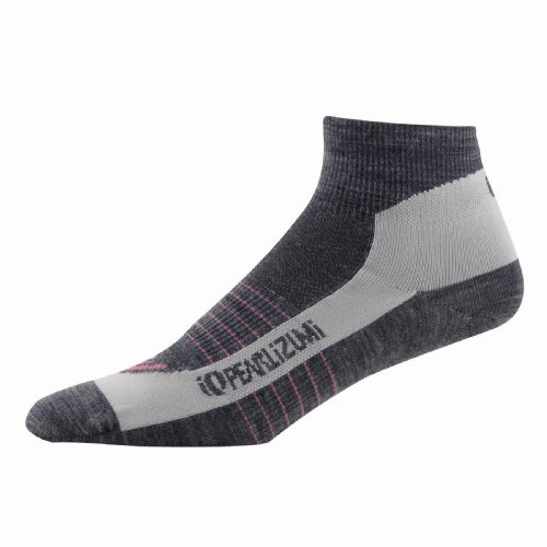 Pearl Izumi Women's Elite Wool Sock,Shadow Grey,Small