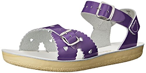 Salt Water Sandals by Hoy Shoe Style 1400 Sandal ,Shiny Purp
