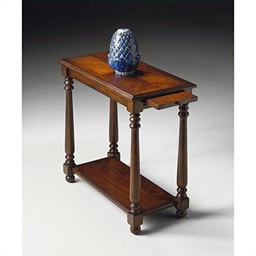 Plantation Cherry End Table - WOYBR 5017024 Plantation Cherry Chairside Table