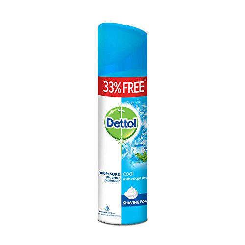 Dettol Shaving Foam Cool – 33% Free