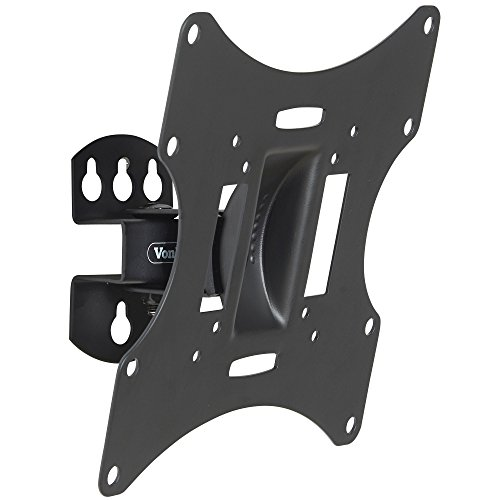 VonHaus Swivel Tilt TV Wall Mount Bracket for 23-42-Inch LED LCD 3D Plasma TVs with Super Strong 66lbs Weight Capacity, Model No 05/027