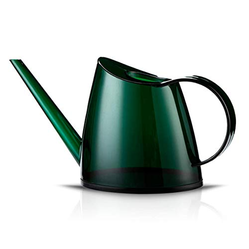 Indoor Watering Can for House Bonsai Plants Garden Flower Long Spout 40oz 1.4L 1/3 Gallon Small Modern Green by WhaleLife