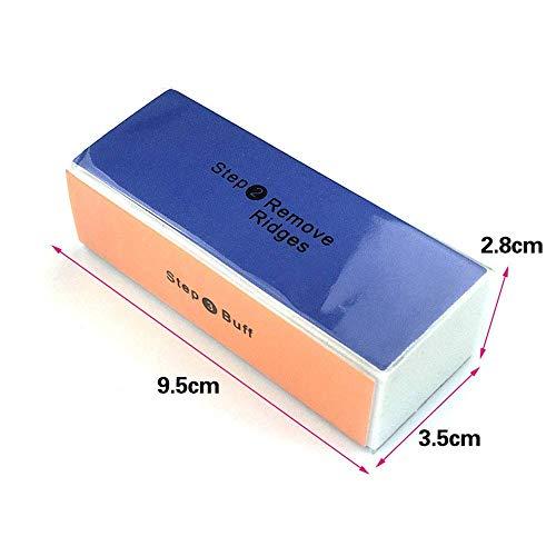 18PCS/Box Profession Nail File Set,Buffer,Shiner Polisher Block,Glass nail file,Nail Clipper Professional Manicure Nail Care Tools Washable