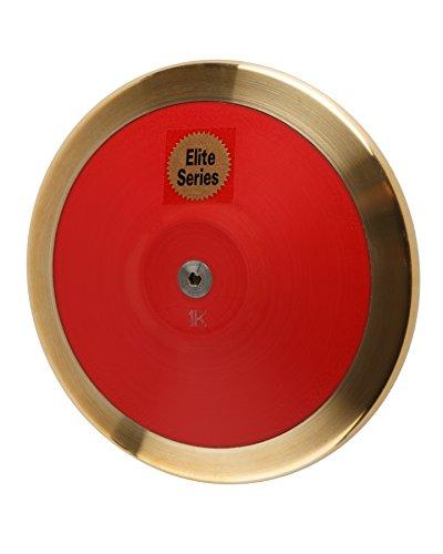 Saxon Elite 1.6 Kilo High School Competition Discus (Brass Rim) ()