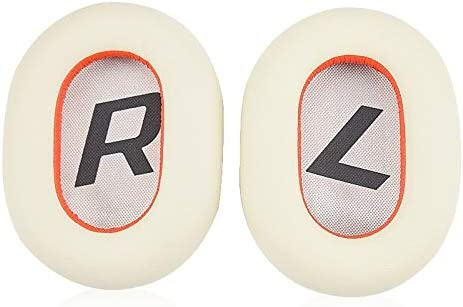 それはあなたにとって完璧な選択です プラントロニクスバックビートのためのシンプルで実用的な2つの8200UCイヤホンクッションカバーイヤーマフ用交換イヤーパッド、(ブラック)PRO (Color : White)
