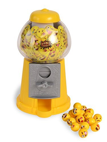 Kangaroo Emoji Gumball Machine; Gumball Bank with Starter (Machine Bank)