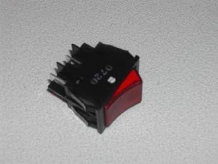 Interruptor basculante: Red : Lincat Chip Embellecedores y Automático Rellenado agua Calderas Original: CS4