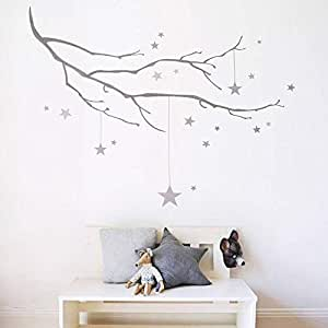 Tree Design Wall Decals for Living Room, Home Decor, Waterproof Wall Stickers