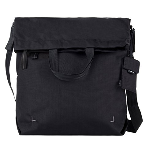 Crumpler Doozie Flap Shopper - Handbags (black, Nylon, Silver) Black