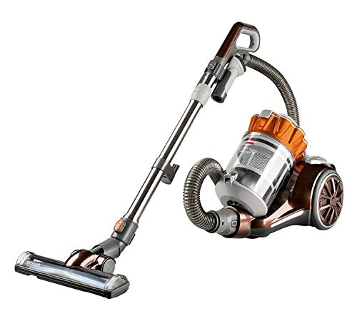 Bissell Hard Floor Expert Multi-Cyclonic Bagless Canister Vacuum, 1547 - Corded Renewed