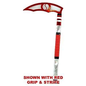 Red Blade - Shards Adult Kama - Karate Taekwondo (Pink Stripe & Grip)