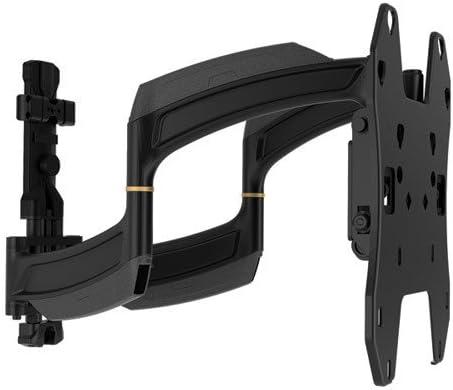 Chief TS318SU Medium Swing Arm Single Stud Mount for 26-52 Inch Displays,Black