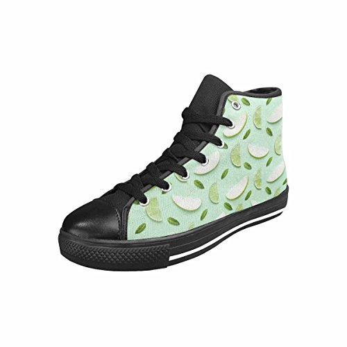 MingDe Sports Women's Classic Lace-up Canvas Shoes High Top Sneakers