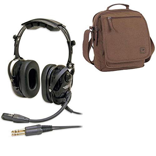 ASA AirClassics HS-1A Headset & Headset Bag Combo