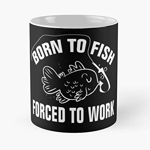 Books Reader Reading Bookworm Keep Calm Fish On And Chips Go Fishing Booknerd Mug Coffee Mugs For Gifts Cup Women - Best 11 oz Coffee Mug Cheap Gift