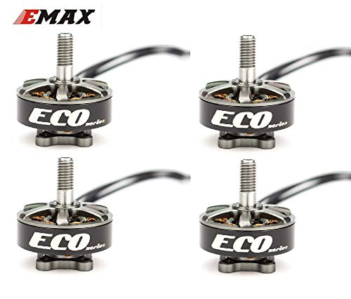 SAUJNN 4pcs Emax ECO Series 2306 1700KV 3~6s /2400KV 2~4s Durable Motor for DIY Racing Drone RC Helicopter ()