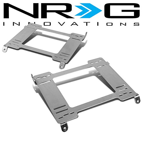 NRG Acura Integra Tensile Stainless Steel Racing Seat Mounting Bracket (Left & Right) - DC2