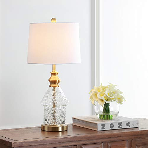 Safavieh TBL4200A Lighting Collection Camden Clear 24.5-inch Table Lamp, H