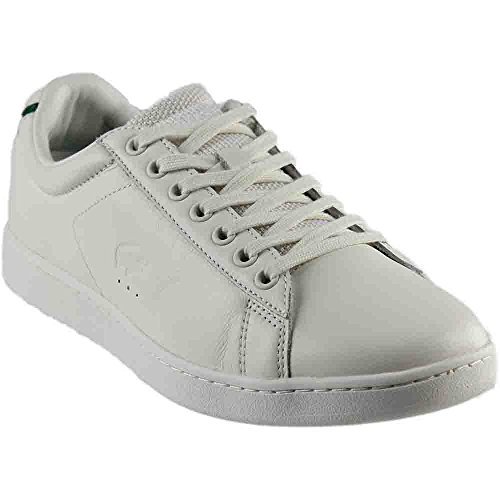 Sneakers In Pelle Lacoste Uomo Carnaby Evo Bianche