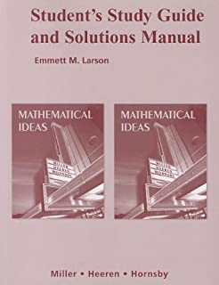 Mathematical Ideas Miller Pdf