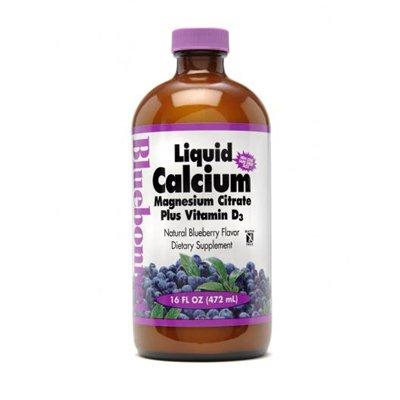 Bluebonnet calcium liquide citrate de magnésium-myrtille - 16 Oz - Liquid