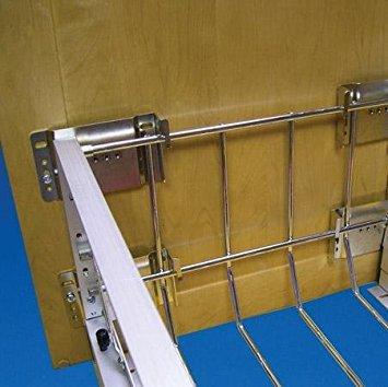Kit Door Mount - Rev-A-Shelf 5345-DM-KIT-52 Door Mount Extenders - Wire-Chrome