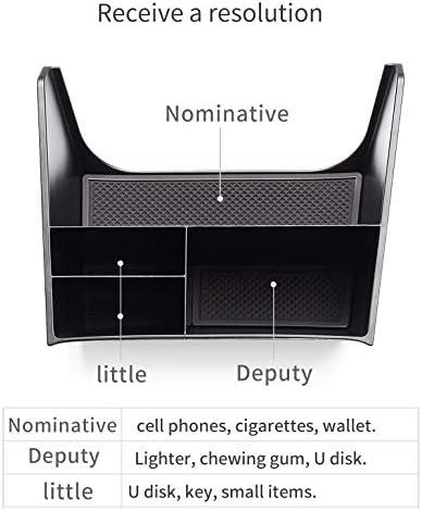 SMABEE Car Center Console Box for Hyundai Creta 2014~2019 IX25 Accessories Central Multifunction Storage Pallet Container Box