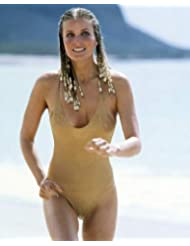 Bo Derek in 10 Ten hair in braids iconic swimsuit running on beach 16x20 Poster