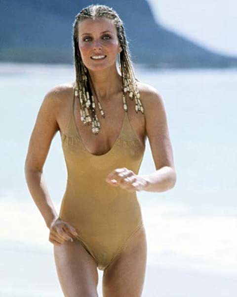 Bo Derek in 10 Ten hair in braids iconic swimsuit running on beach 16x20  Poster at Amazon's Entertainment Collectibles Store